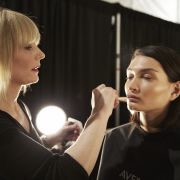 New York Fashion Week. Make up Aveda