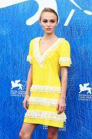 Lily-Rose Depp in Chanel a Venezia