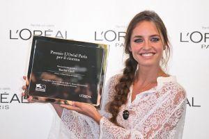 """Premio """"L'Oréal Paris per il cinema"""" Matilde Gioli"""