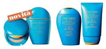 Prodotti Solari Shiseido