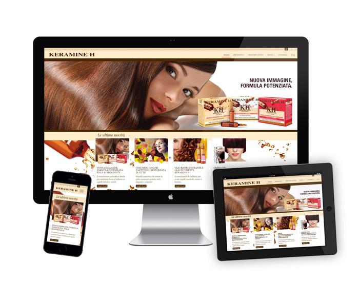 Keramine H. Online il nuovo sito