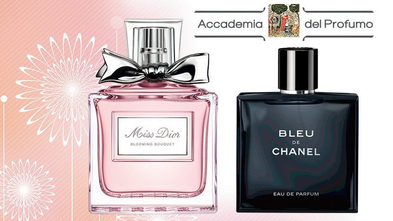 Chanel e Dior profumi dell'anno