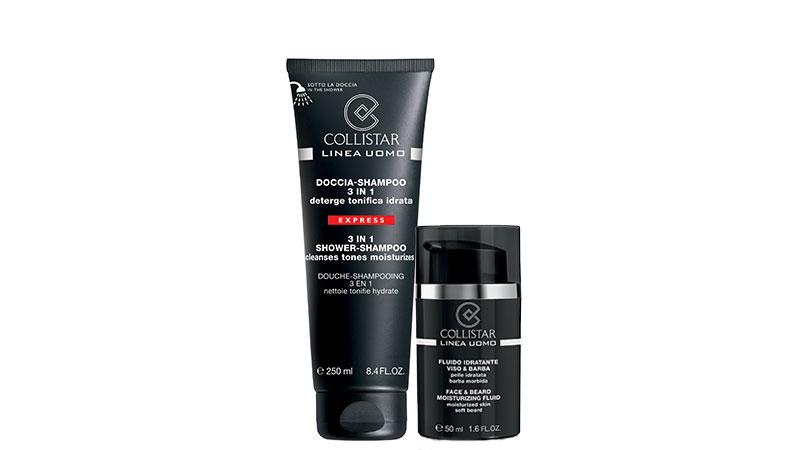 Fluido idratante viso & barba e Doccia-shampoo 3 in 1 Express