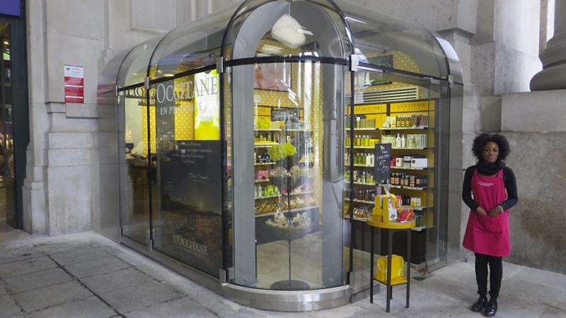 L'Occitane - Temporary shop