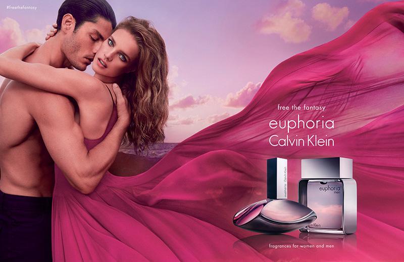 Nuova campagna per euphoria Calvin Klein