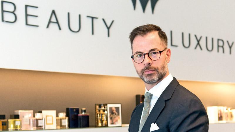 Peter Gladel socio e AD di Beauty and Luxury