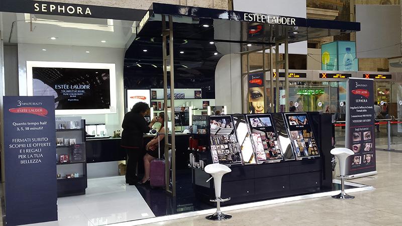 Estée Lauder. A Milano il Temporary Shop