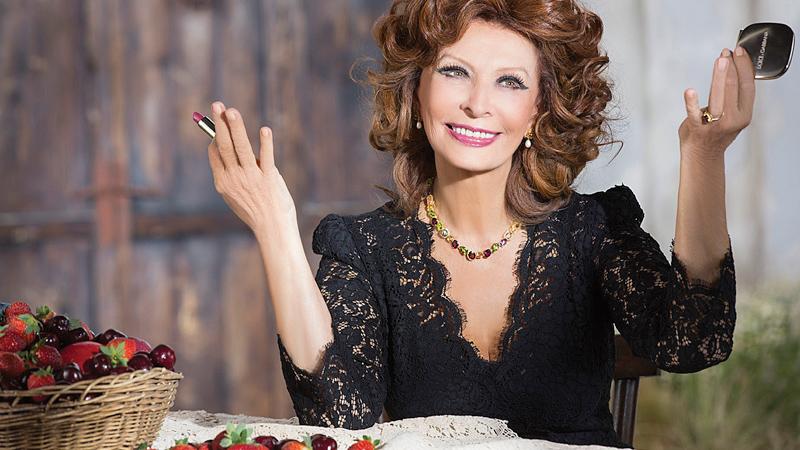 Sophia Loren N° 1. Il primo rossetto D&G firmato dalla diva italiana