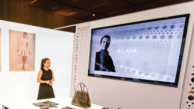 Alaïa Paris. Training Tour di un Eau de Parfum