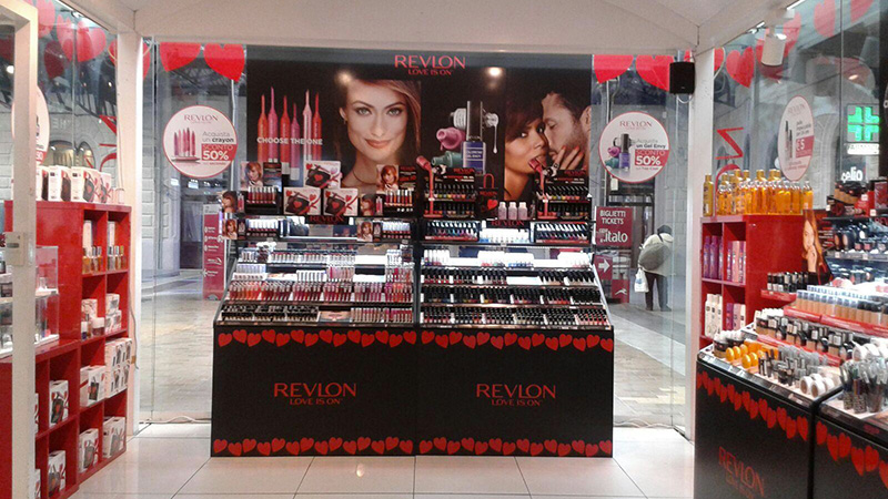 Revlon. Temporary a  Milano e Roma
