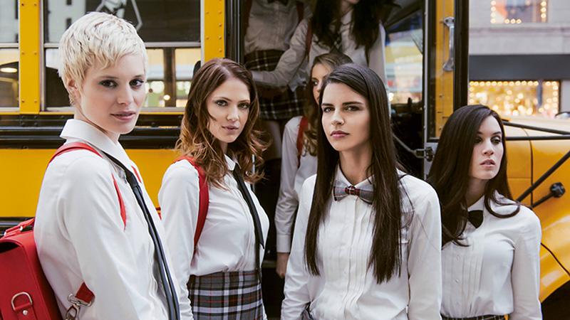 Limoni e La Gardenia in TV con la  Make Up School