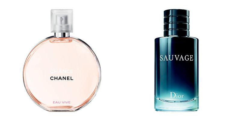 Chanel e Dior migliori profumi dell'anno