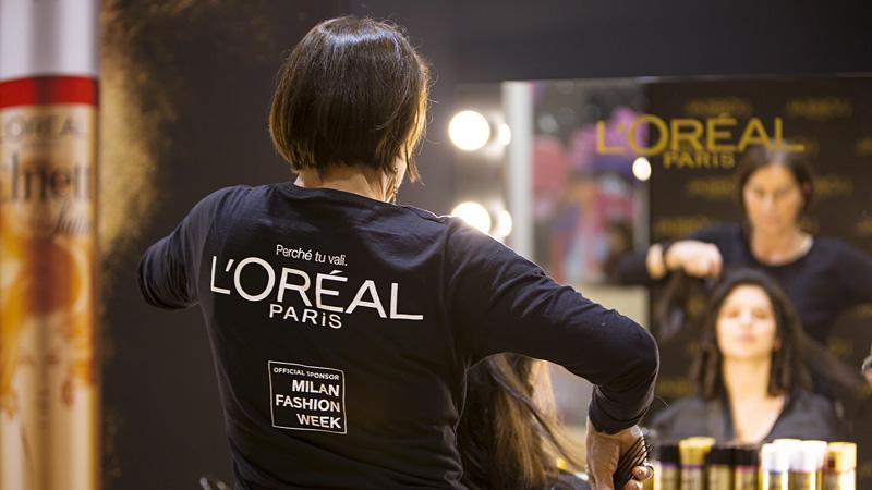 Milan Fashion Week. L'Oréal Paris sponsor ufficiale