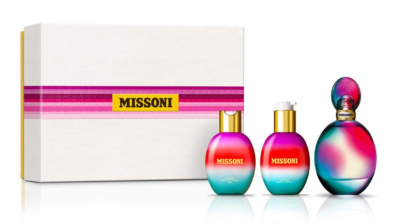 Coffret luxury by Versace, Moschino, Missoni