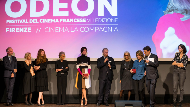 Salvatore Ferragamo Parfums main sponsor France Odeon 2016