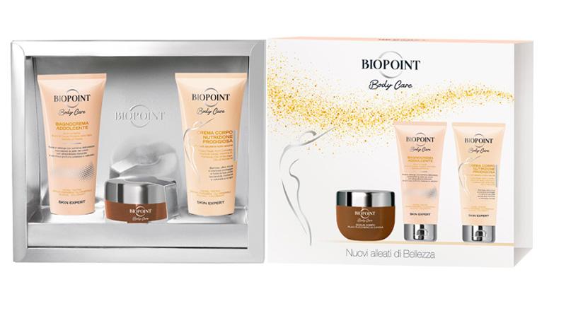 Natale  Biopoint: tre cofanetti Body Care