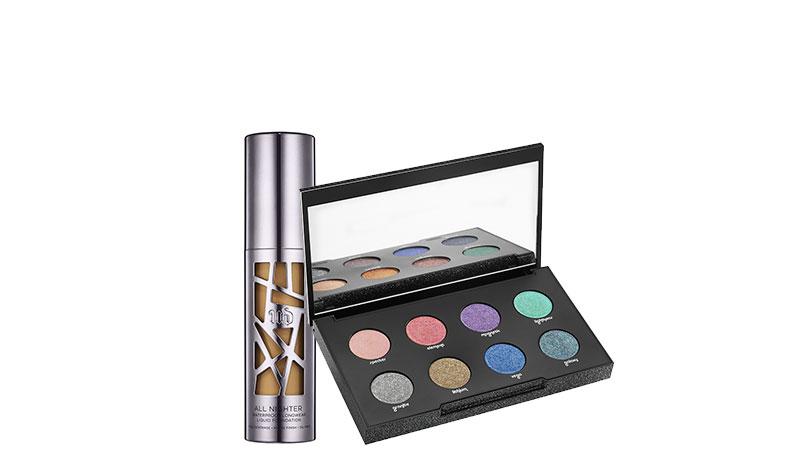 All Nighter Liquid Foundation e Moondust Eyeshadow Palette