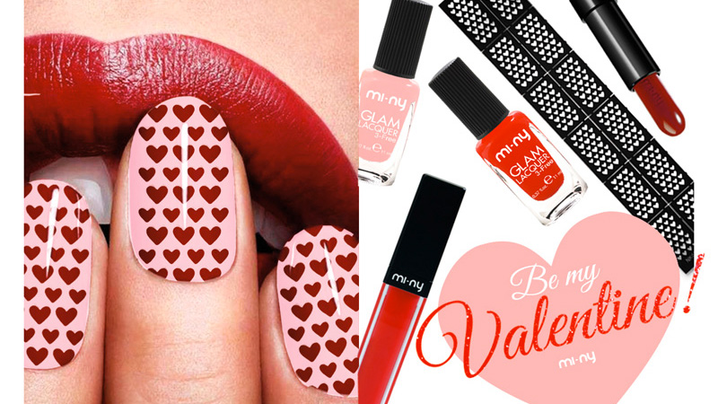 Make up romantico per San Valentino con MI-NY