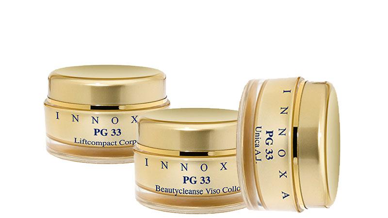 PG33 Crema Giorno all'Acido Jaluronico, Beautycleanse e Liftcompact