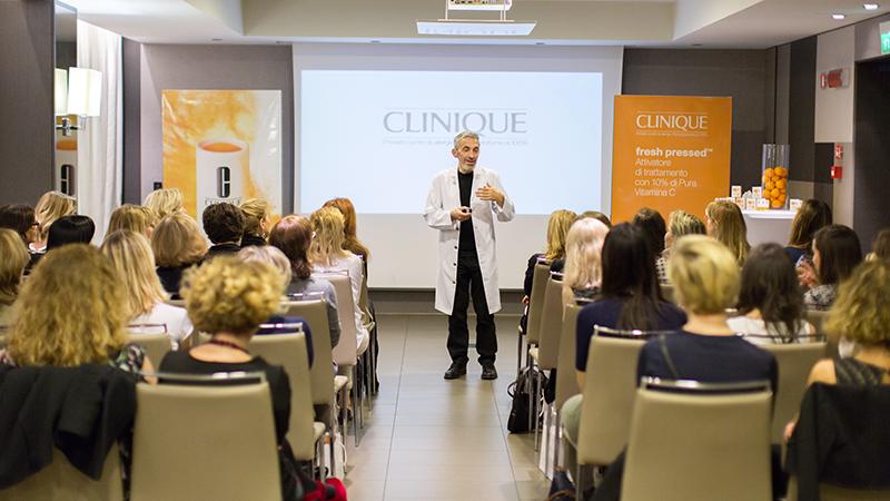 Clinique Fresh Pressed per Associazione  Donne Dermatologhe Italia