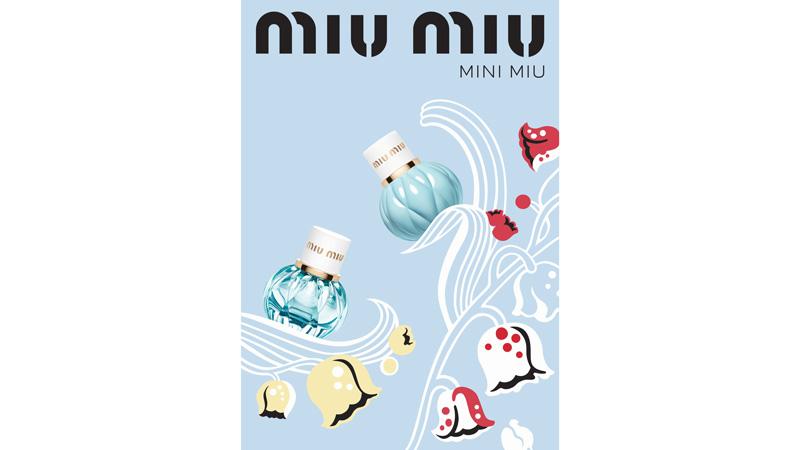 Formato Mini per le fragranze Miu Miu