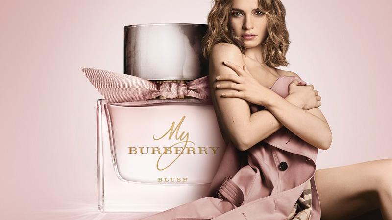 La nuova campagna di My Burberry Blush