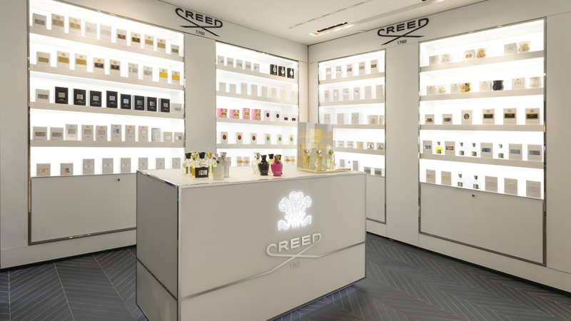 Le fragranze Creed a laRinascente di Milano