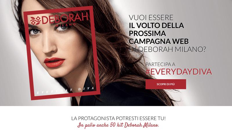 Deborah Milano e Grazia Presentano il concorso #Everydaydiva