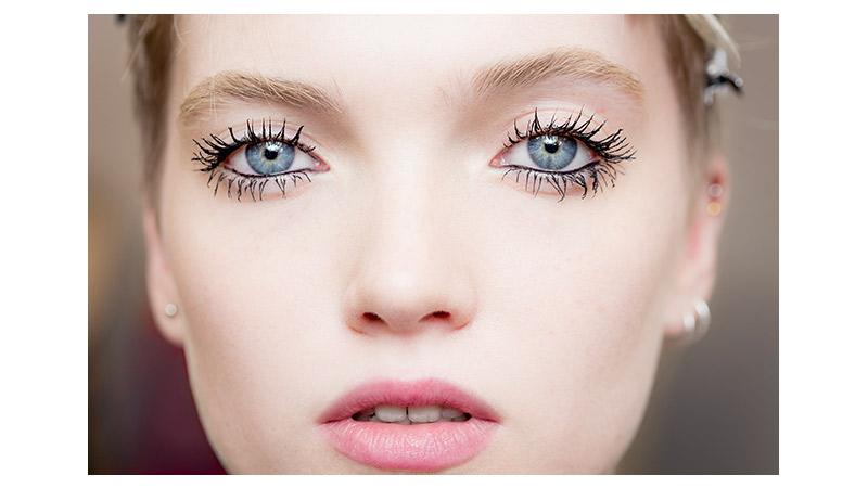 il make up look della sfilata Dior