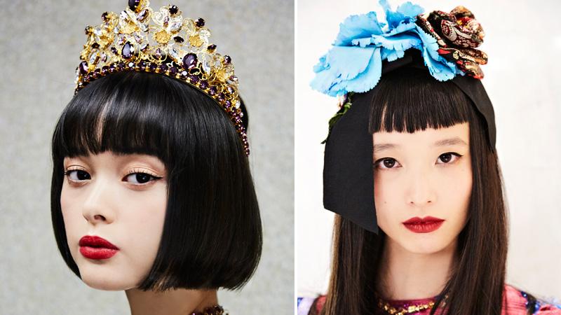 Il beauty look della sfilata Dolce&Gabbana a Tokyo