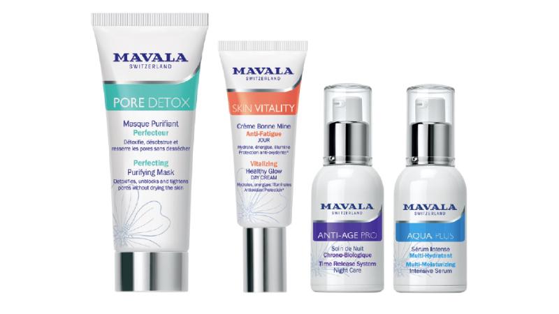 MAVALA Swiss Skin Solution: cinque linee di trattamenti viso.