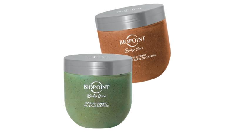 Nuovi pack per gli scrub della linea Body Care di Biopoint