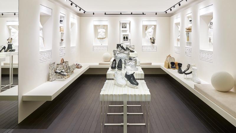 Un temporary store Chanel a  Courchevel