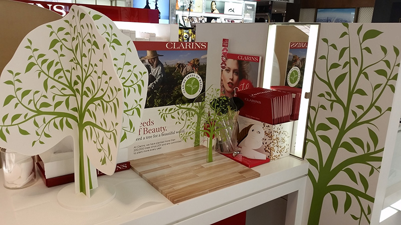 Clarins & The Green Life - Milano