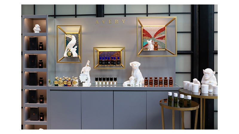 Nuovo spazio Avery Perfume Gallery al The Shop at Bluebird