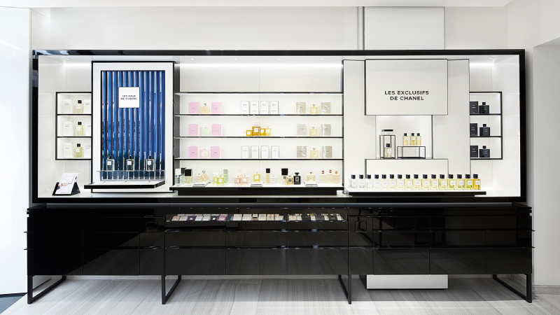 Chanel, apre una fragrance & beauty boutique a Roma