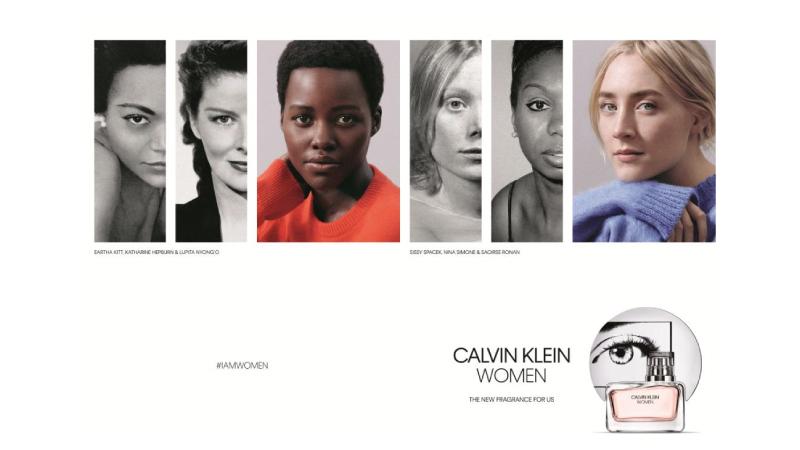 Lupita Nyong'o e Saoirse Ronan, nuovi volti Calvin Klein Fragrances