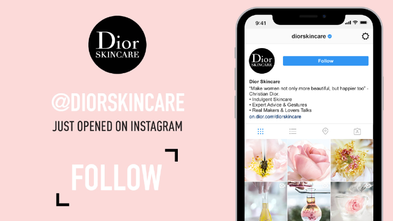 Dior Beauty su Instagram