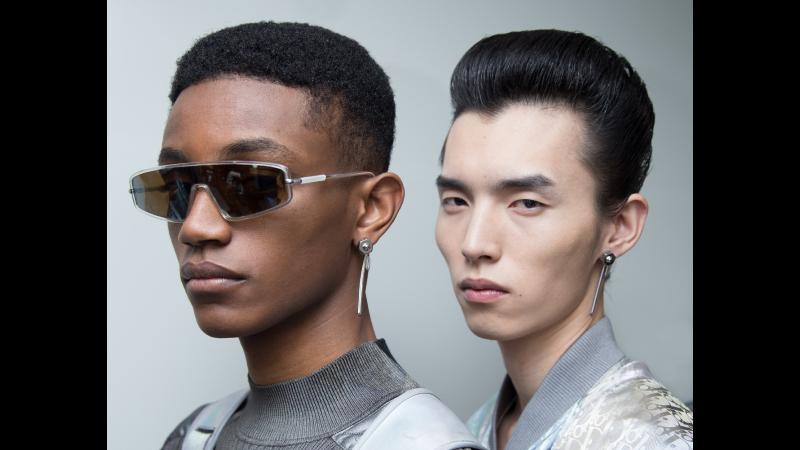 Grooming per la collezione uomo Dior Pre-Fall 2019