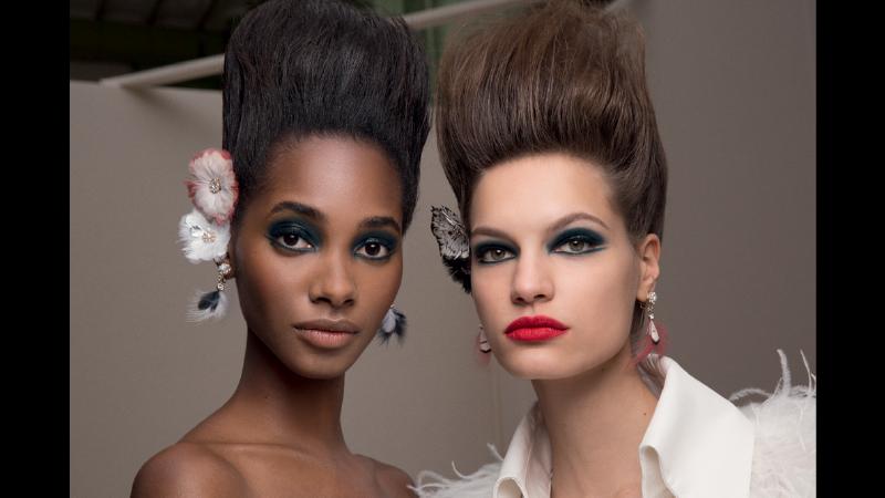 Chanel, il make up della sfilata Haute Couture