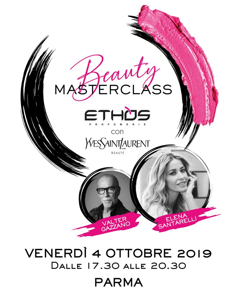 Beauty Masterclass Ethos Profumerie e YSL Beauté