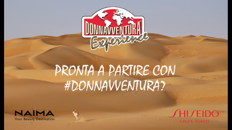 Naïma in TV con Donnavventura